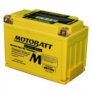 MotoBatt MBTX9U gel battery