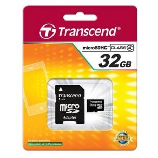 32 GB micro SD Transcend