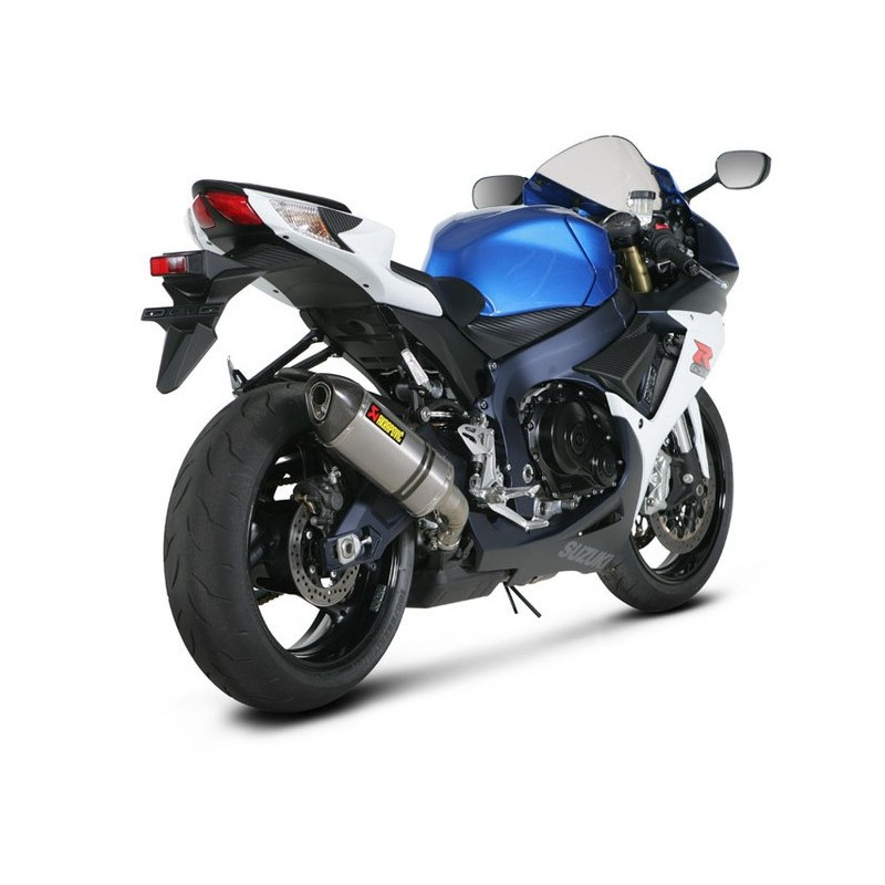 akrapovic slip on demper suzuki gsx r 600 2011 2015 motomoto. Black Bedroom Furniture Sets. Home Design Ideas