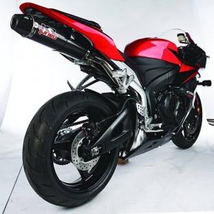 """KR-Tuned Carbon """"Slip-on"""" Demper CBR600 RR '07-'08"""