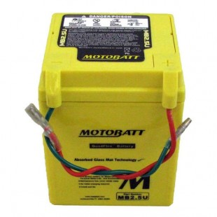 MotoBatt MB2.5U gel battery