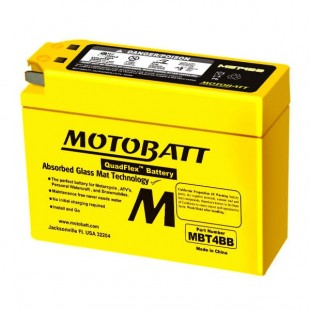 MotoBatt MBT4BB gel battery