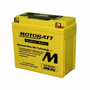 MotoBatt MB3U gel battery
