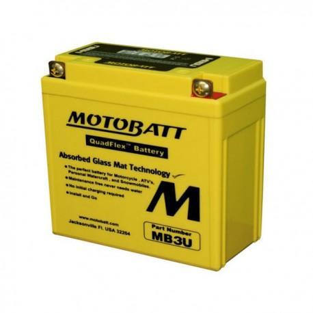 MotoBatt MB3U gel battery