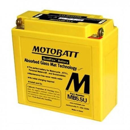 MotoBatt MB5.5U gel battery