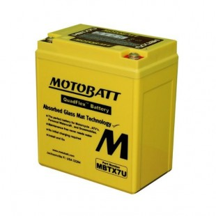 MotoBatt MBTX7U gel battery