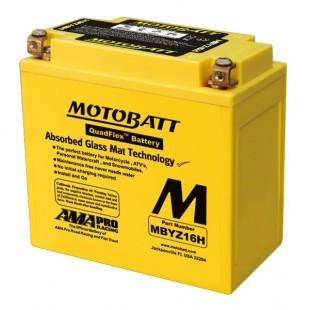 MotoBatt MBTX16U gel battery