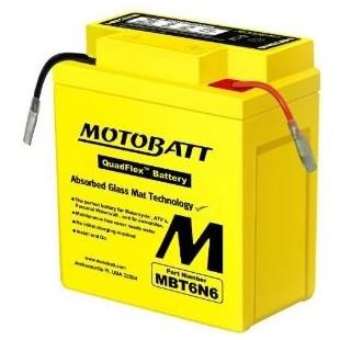 MotoBatt MBT6N6 gel accu