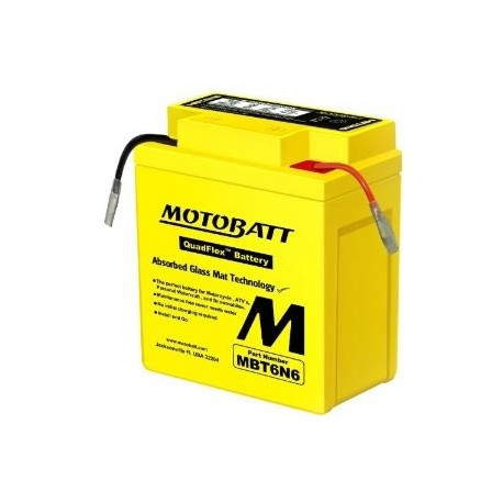 MotoBatt MBTX16U gel battery